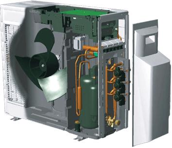 空调外机内部结构图